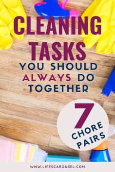 Check out this list of cleaning tasks that you can do together to quickly clean your home. 1 minute, 5 minute or even 15 minute cleaning hacks to get your home clean quicker and easier. Whether it's monthly, weekly or daily cleaning you can speed clean your home with cleaning duos! Weekly Cleaning, Household Cleaning Tips, House Cleaning Tips, Spring Cleaning, Cleaning Hacks, Cleaning Schedules, Disinfecting Wipes, Clean Bedroom, Old Towels