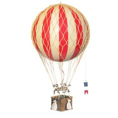 Luftballon, rød - 32 cm