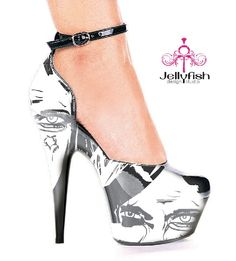 I will never be able to afford these crazy amazing Zombie heels...and I won't lie...i'm a little sad about it.
