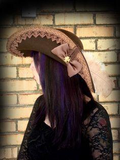 Renaissance+Cavalier+Hat | Custom by caribbeanrosepirate