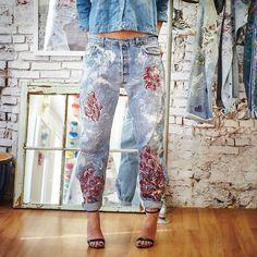 Blake Lively Wearing Boyfriend Jeans   POPSUGAR Fashion
