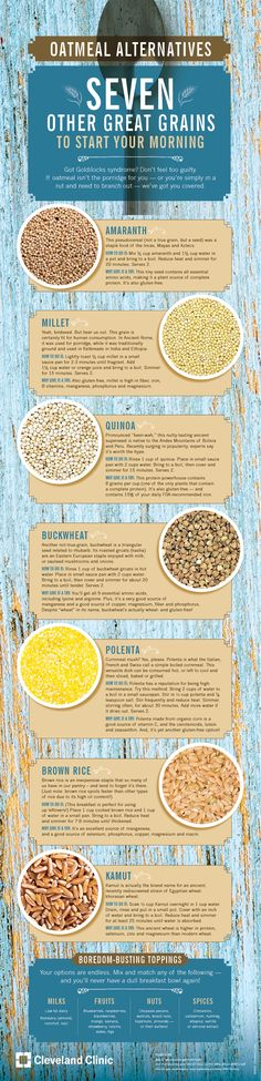 7 grains you should start your morning with.
