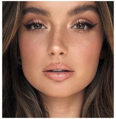 Wedding Eye Makeup, Wedding Makeup For Brown Eyes, Natural Makeup For Brown Eyes, Makeup Looks For Brown Eyes, Simple Makeup Looks, Bridal Makeup Looks, Natural Makeup Looks, Natural Bridal Makeup, Simple Bridal Makeup