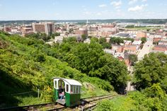 1. Take a ride on the Fenelon Place Elevator in Dubuque, and enjoy the view from the top.