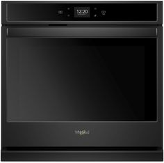 Whirlpool Wos51ec0hb 30 Inch Smart Single Oven With Touchscreen Frozen Bake Technology Temperature Sensor Multi Electric Wall Oven Wall Oven Cleaning Walls