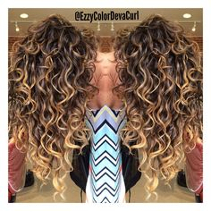 "Ezmeralda on Instagram: ""Waterfall Botticelli Perfected Curls by The Heavenly…"