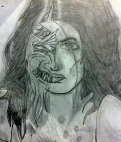 A lovely zombie pageant queen for you.