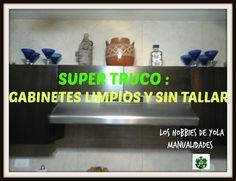SUPER TRUCO GABINETES LIMPIOS SIN TALLAR / KITCHEN HACKS