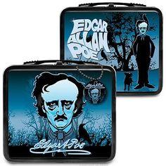 Edgar Allen Poe Lunch Box! Score!!!