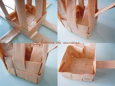 diy: cesta de papel | Handbox Craft Lovers | Comunidad DIY, Tutoriales DIY, Kits DIY