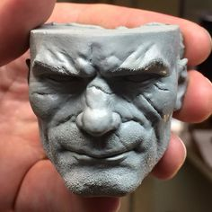 Portrait sculpt for the upcoming Frazetta Barbarian statue for ARH studios. 1/4 scale. cx5 wax Check out my Patreon account for tutorials and free ztls https://www.patreon.com/ehren_bienert