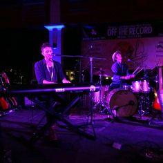 Brendan James (@bjamesmusic) at the Off the Record Music Festival in Charleston (2015). #OTRCHS