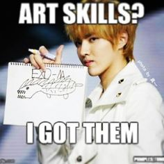 #kris #exo #exom #art #proud #of #himself
