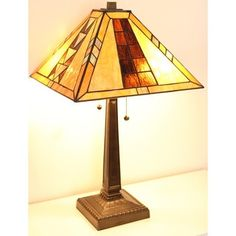 Shop for Tiffany-style Mission Table Lamp. Get free shipping at Overstock.com - Your Online Home Decor Outlet Store! Get 5% in rewards with Club O!