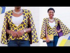 T Shirt Sewing Pattern, Blazer Pattern, Sewing Patterns Free, Sewing Tutorials, No Sew Cape, Diy Cape, Diy Clothes Tutorial, Cape Designs, Cape Pattern