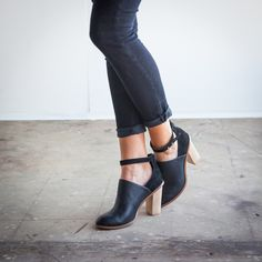 ankle strap bootie