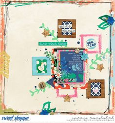 Toucan Do It : Bundle by Brook Magee, Amanda Yi & Captivated Visions #ssd #sweetshoppe #digitalscrapbook #scrapbook #layout #brookmagee #amandayi #captivatedvisions