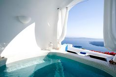 Enjoy beautiful Andronis Luxury Suites in Santorini, Greece
