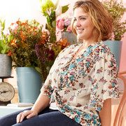 Save Now during the Season of Prints: Plus-Size Apparel event on #zulily today!