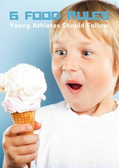 Young athletes face distractions that can keep them from eating properly. From school and homework to training and competition, they don't always pay attention to how they fuel their bodies or take the time to understand the role nutrition plays in supporting their training and goals. 6 Food Rules Young Athletes Should Follow http://www.activekids.com/food-and-nutrition/articles/6-food-rules-young-athletes-should-follow?cmp=17N-PB34-S14-T1---1080
