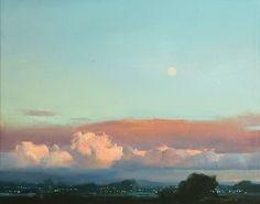 "Zhaoming Wu | ""Wakening"" 11 x 14"" framed oil"