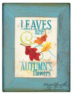 Free Printable for Autumn | Meg N Grace Designs