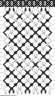 12 strings 20 rows 2 colors