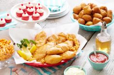 Fish Fry Party Ideas - Perfect for guys who love to fish!