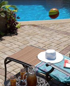 There's nothing some vitamin D and a good book can't cure! #SPpoolside #relax