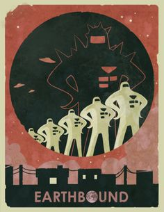 earthbound. starmen. this needs to take up an entire wall in my apartment.