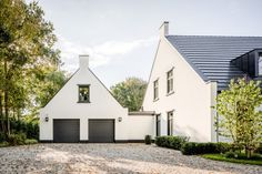 Moderne notariswoning - Hoog ■ Exclusieve woon- en tuin inspiratie. Modern Farmhouse Style, Home Goods, House Plans, Shed, Exterior, Outdoor Structures, House Design, Mansions, House Styles