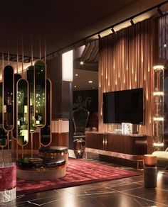 Living Room Trends, Living Room Designs, Living Room Decor, Dream Home Design, House Design, Luxury Bedroom Design, Dressing Room Closet, Interior Decorating, Interior Design