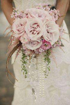 Bouquet by Flora Fetish-Austin, Texas // pink wedding bouquet  // austin wedding florist // Bliss Magazine