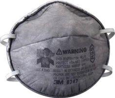 3M Respirador desechable contra Vapores Orgánicos 8247 R95
