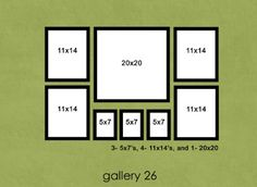 Poster Hanging Ideas  family photo wall hanging