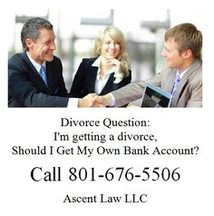 Im getting a divorce  Should I Get My Own Bank Account?