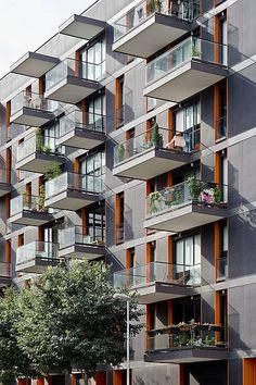 cool balconies - Residential building Diagonal-Bilbao