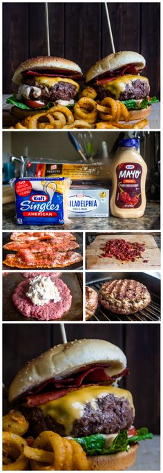 Bacon Chipotle Stuffed Cheeseburger