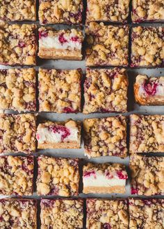 Raspberry Cheesecake Streusel Bars — The Boy Who Bakes Cheesecake Mix, Raspberry Cheesecake, Edd Kimber, Cherry Topping, Baking Tins, New Cookbooks, Brownie Bar, Sour Cream, Sweet Treats