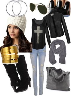 """""""black in baby"""" by monicaxmonica ❤ liked on Polyvore"""