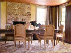 dining room with tinted plaster walls, farmhouse remodel, Wondering about adding texture to the dining room walls...no really turning back once you do that, though.