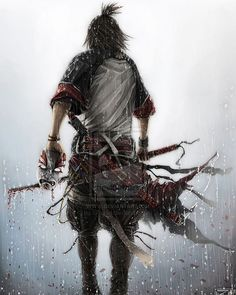 Samurai with mask by sXeven • • • • • • • • •  #shinobi #assasin #warrior #samurai #manga #ниндзя #katana #art #digitalart #бусидо #japan #bushido #катана #воин #fantasy #blade #Ninja #самурай #Япония #samurai #japan #japanese #japan #japanesestyle #anime  #animeart #fantasyart#drawings#asian #ronin #ронин