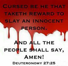 Deut. 27:25