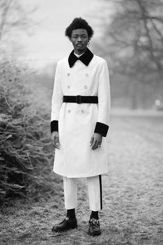 Beautiful men wearing Alexander McQueen in a London park   Dazed