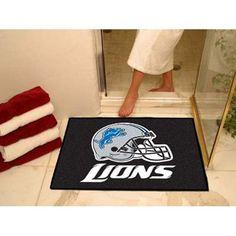Detroit Lions NFL All-Star Floor Mat (34x45)