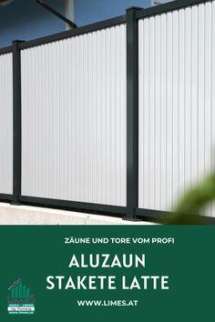 Aluzaun Stakete Latte Latte, Limes, Garage Doors, Outdoor Decor, Home Decor, House And Home, Balcony, Decoration Home, Room Decor