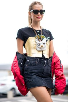 Street Style SS17 París Fashion Week - September 2016