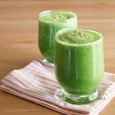 komkommer smoothie met appel en gember