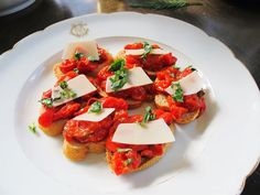 roasted tomato bruschetta #goopmake