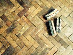 Floor prior to sanding